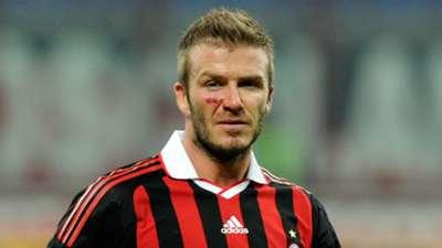 David Beckham Milan Serie A