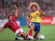 Carlos Valderrama - Colombia vs England (france 98)