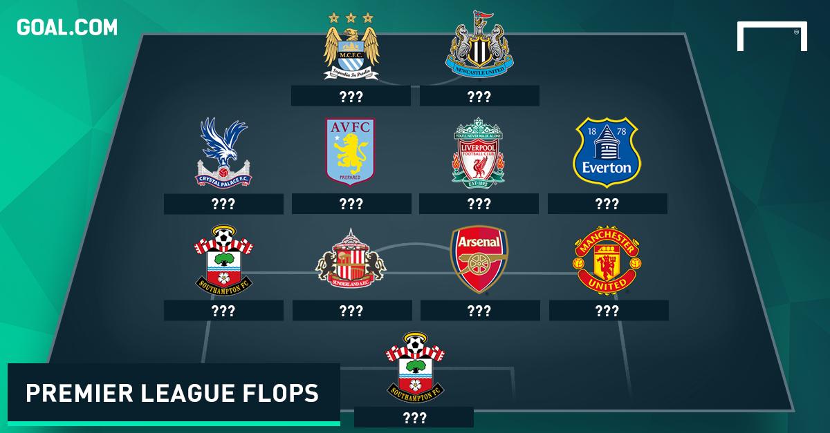 Premier League flops