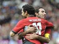 Mohammed Abu Trika - Mohamed Salah - Egypt