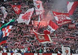 Bari fans.