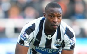 Newcastle United striker Shola Ameobi