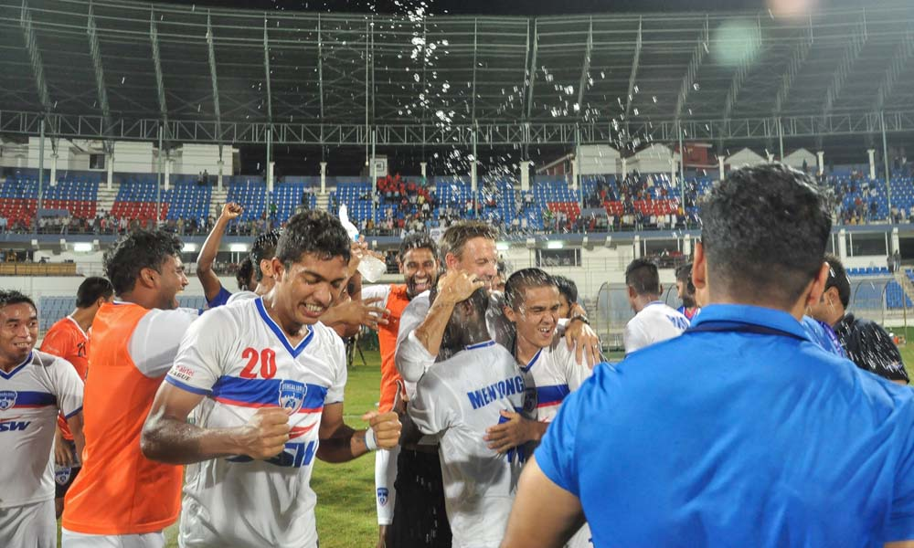 Bengaluru FC Celebration Dempo SC vs Bengaluru FC I-League
