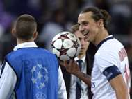 Zlatan Ibrahimovic Paris Saint Germain PSG Anderlecht Champions League 10232013