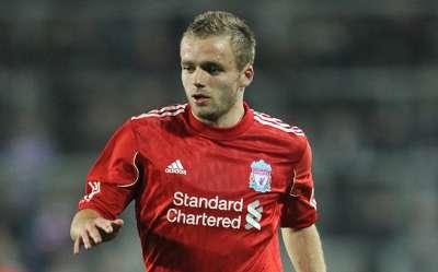 Ryan McLaughlin of Liverpool