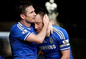 Lampard surprises Mikel in beating Terry to Chelsea's top job