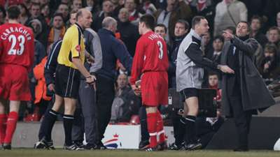 Jose Mourinho Carling Cup final 2005