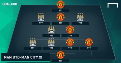 Man Utd & Man City combined XI