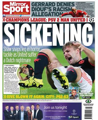 Daily Mirror backpage 16092015