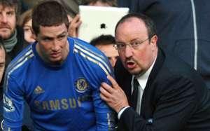 Rafael Benitez,Fernando Torreas:Chelsea