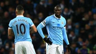 Yaya Toure Manchester City 21112015
