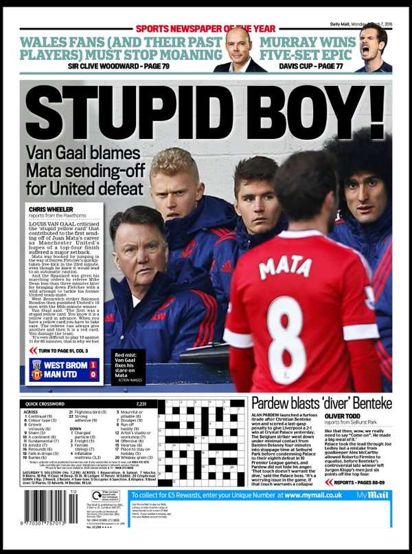 Daily Mail backpage 07032016
