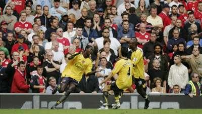 Manchester United Arsenal 2006
