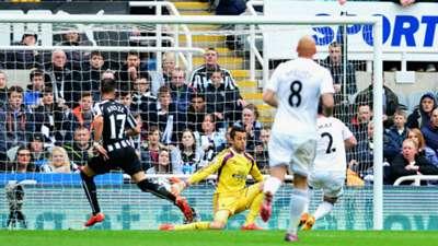 Ayoze Perez Newcastle United Swansea City