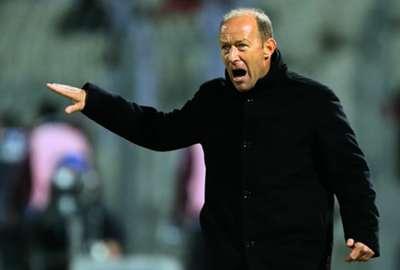 Real Betis head coach Gabriel Calderon