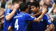 Cesc Fabregas Diego Costa Chelsea Premier League