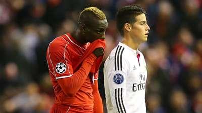 Mario Balotelli Liverpool Real Madrid Champions League 22102014