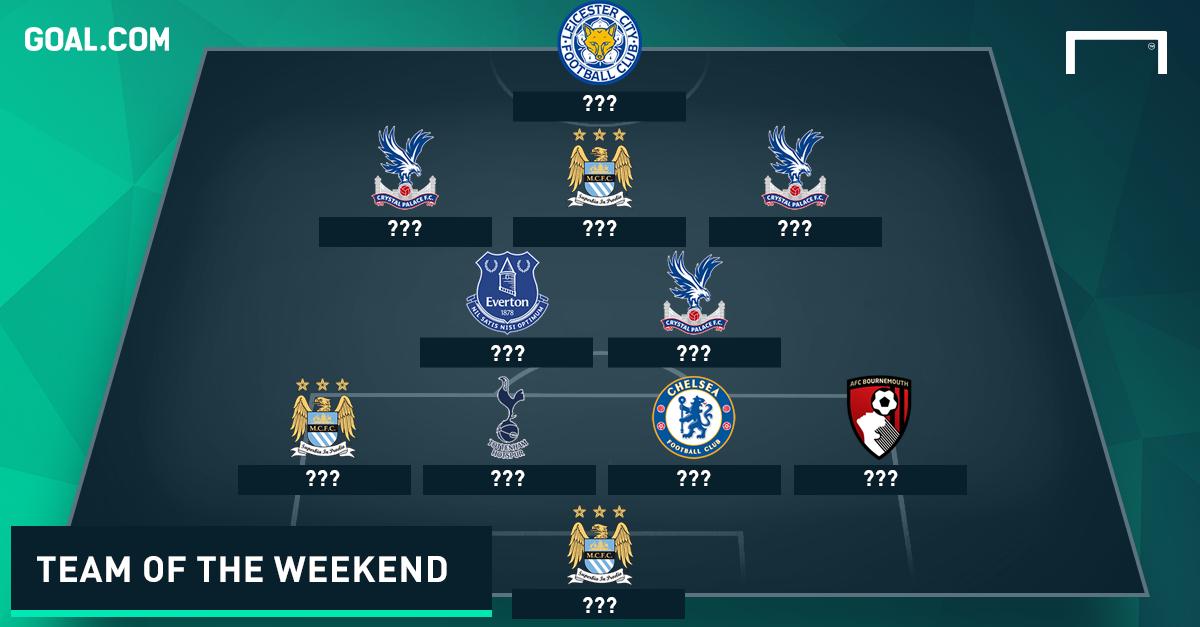 Premier League Team of the Weekend 30112015