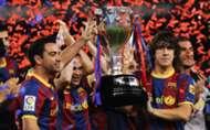 Puyol and Xavi - Barcelona