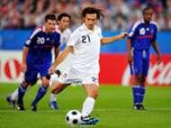 Andrea Pirlo Italy France Euro 2008