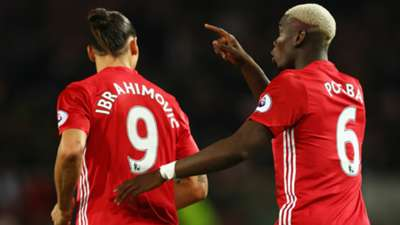 Zlatan Ibrahimovic Paul Pogba Manchester United Premier League