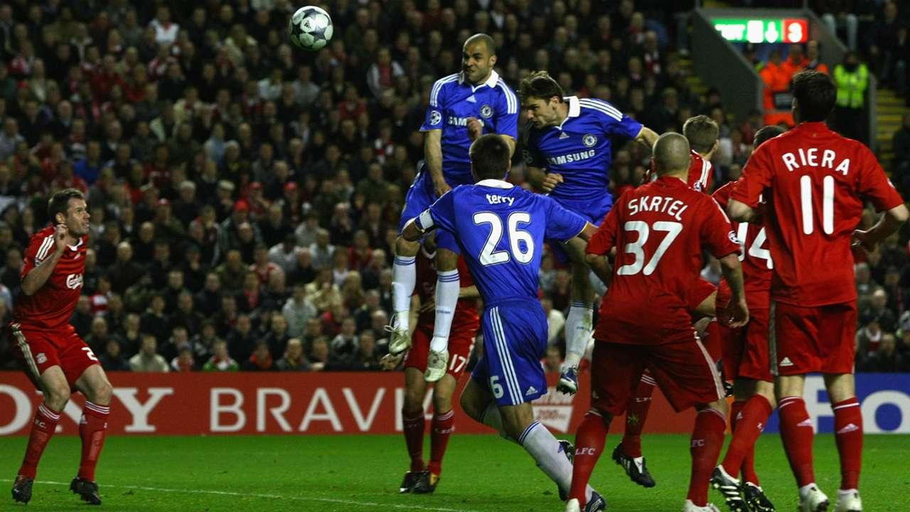 Ivanovic's big Chelsea goals   Liverpool   2008-09