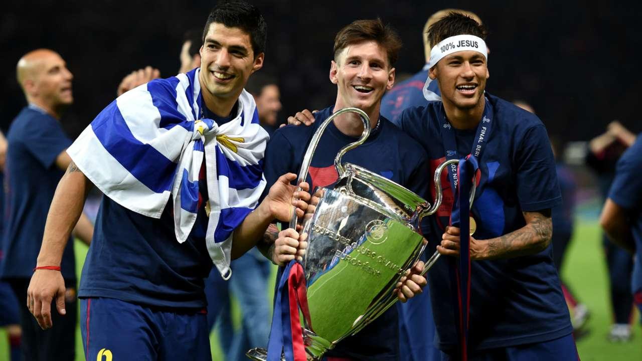 Luis Suarez; Lionel Messi; Neymar Barcelona
