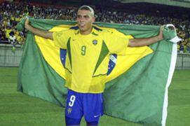 RONALDO NAZARIO BRAZIL WORLD CUP 2002