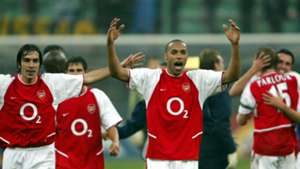 HD Thierry Henry Robert Pires Arsenal Inter