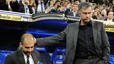 Pep Guardiola & Jose Mourinho