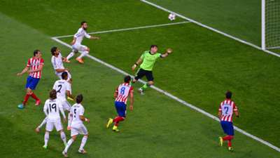 Iker Casillas Diego Godin Real Madrid Atletico Madrid Champions League 24052014
