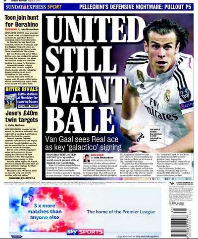 Sunday Express backpage 2-8-15