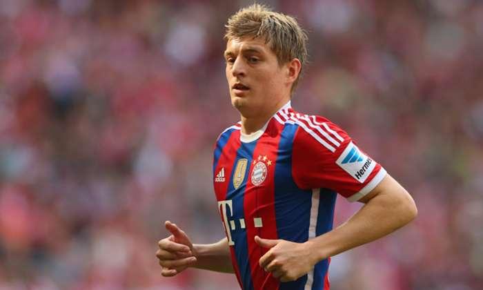 Toni Kroos Bayern Muenchen