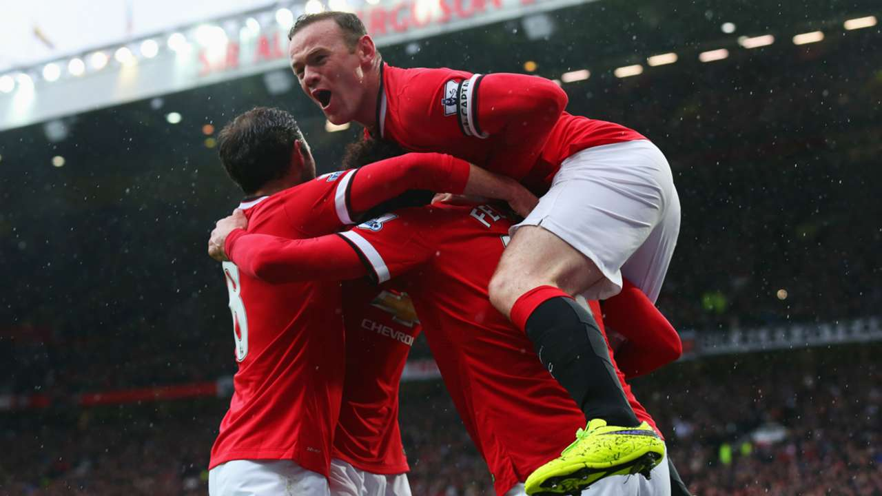 Wayne Rooney Manchester United Manchester City 12042015