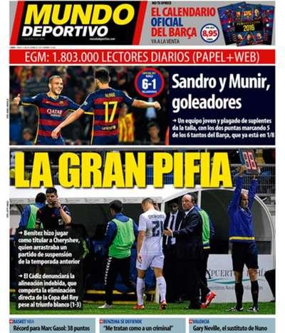 European Newspaper Review | El Mundo Deportivo