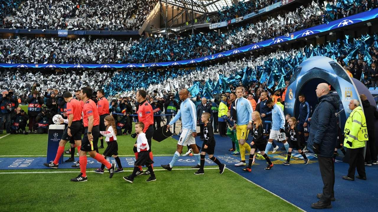 HD Man City Real Madrid
