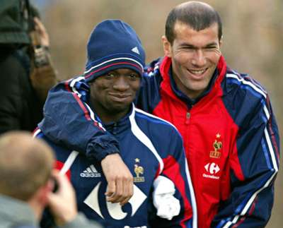 Zidane , Makelele , France (Feb. 2004)