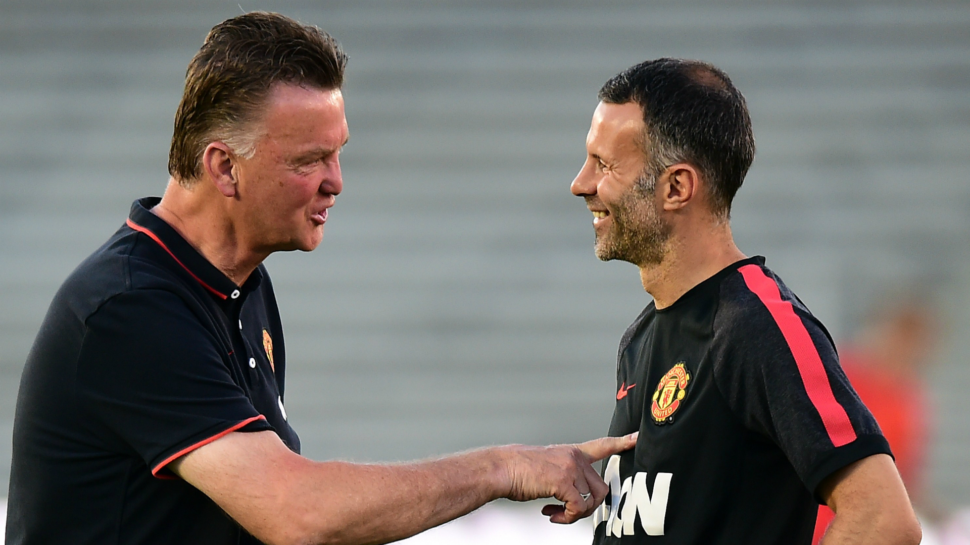Giggs explains why he learnt more from Van Gaal than Ferguson