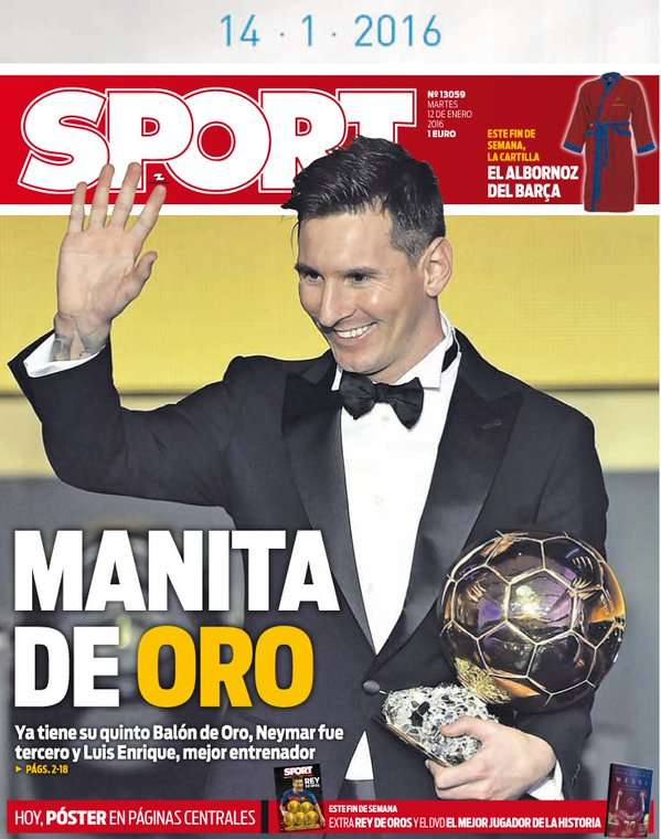 Sport back page 120115