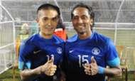Sunil Chhetri Clifford Miranda India vs Nepal 11192013