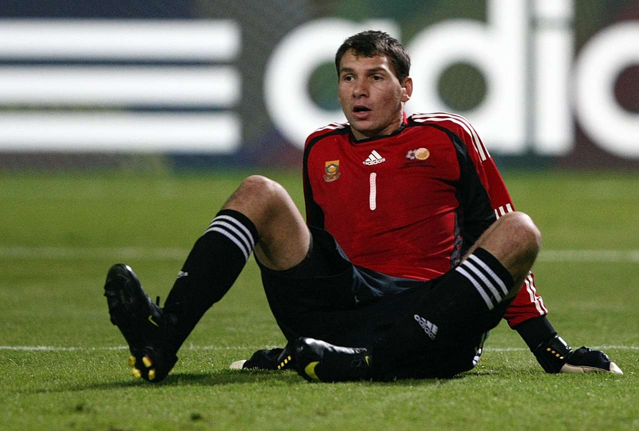 Bafana Bafana keeper - Darren Keet