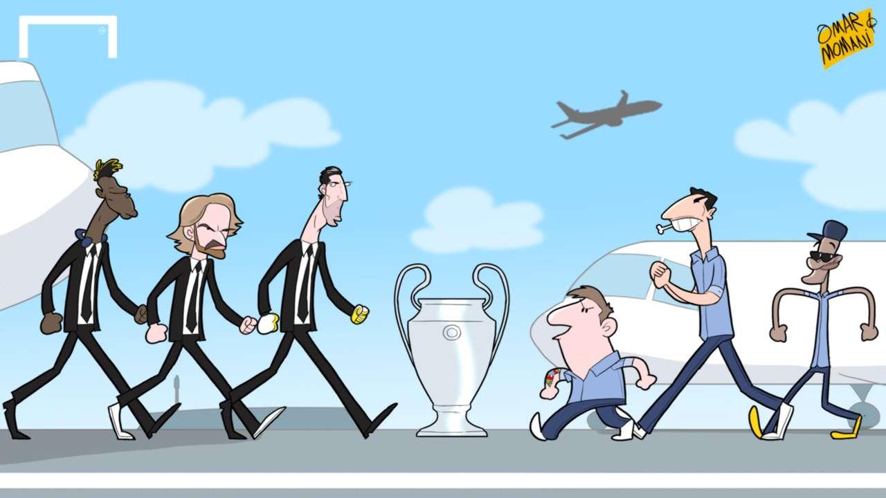 Cartoon of the Day: Barcelona - Juventus