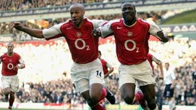 Thierry Henry Tottenham v Arsenal