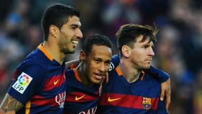 Luis Suarez, Neymar, Lionel Messi