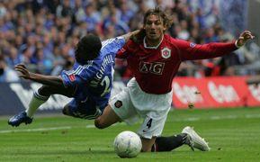 Gabriel Heinze / Manchester Utd - Chelsea 2007