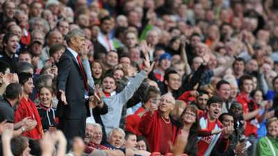 Arsene Wenger Manchester United Arsenal Premier League 29082009