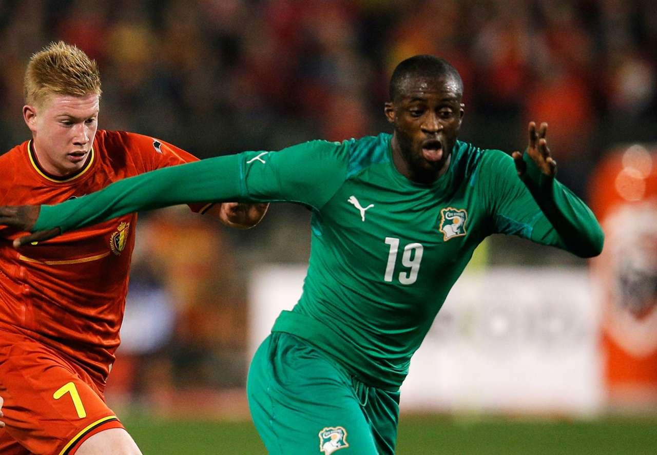 Yaya Toure Ivory Coast v Belgium International Friendly