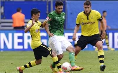 Germany, Bundesliga, Mehmet Ekici, Werder Bremen, Borussia Dortmund, Sebastian Kehl