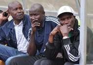 Sony Sugar coach Sammy Omollo during a past league match..