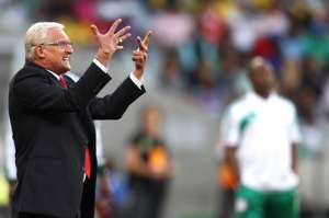 Gordon Igesund, Stephen Keshi - South Africa-Nigeria CHAN
